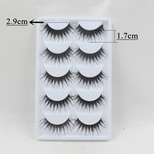 Blythe Doll Long Eyelashes 5 pairs 10pcs