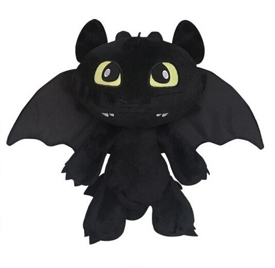 18cm-Night-Fury-Plush-Toy-How-To-Train-Your-Dragon-2-Plush-Toy-Toothless-Dragon-Stuffed