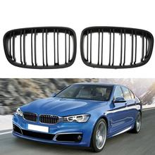 1 Pair Front Kidney Grille for BMW 1 Series F20 F21 LCI 118 120 125 135i High Quality Car Exterior Parts Front Kidney Grille
