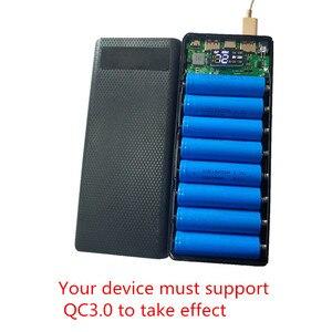 Image 4 - Быстрая зарядка 3,0 Мощность банка 18650 чехол QC3.0 5В 9В 12В держатель литиевой батареи быстрая Зарядное устройство в форме раковины DIY Kit