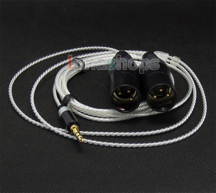 Male 3 Pins XLR Headphone Cable For philips Fidelio X1 UE6000 UE9000 Sony MDR-1R LN004721 philips fidelio b5 12 саундбар