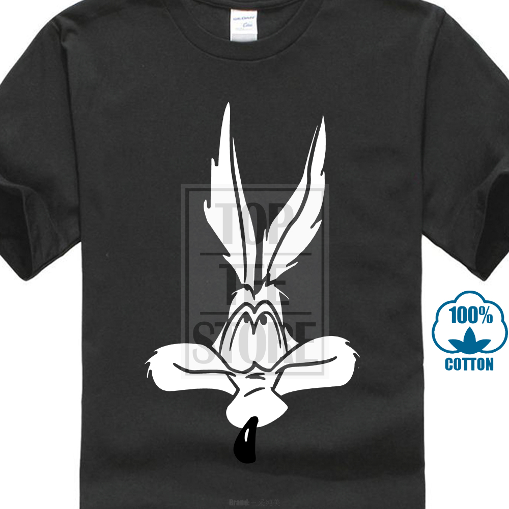 Wile E Coyote   T     Shirt   Mens Graphic Tee Looney Tunes Gift New From Us