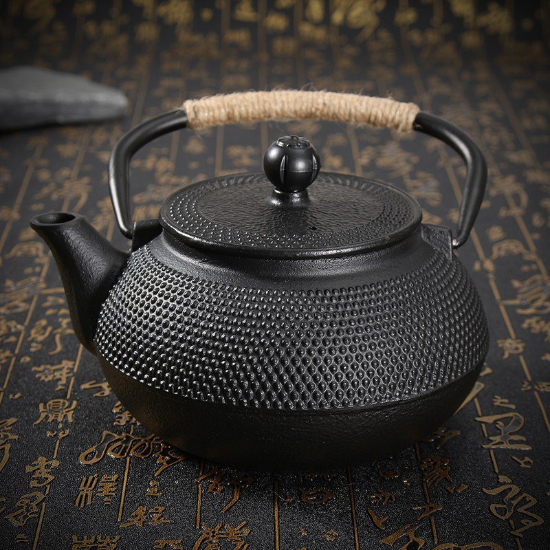 Genuine 800ml Japanese Cast Iron Teapot Kung Fu Tea Pot Home Office Tea Kettle With Infuser