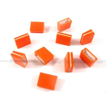 20 sztuk do FADER CROSSFADER pokrętło DJM800 DJM700 DAC2371 pomarańczowy kolor tanie i dobre opinie PowerProaudio None
