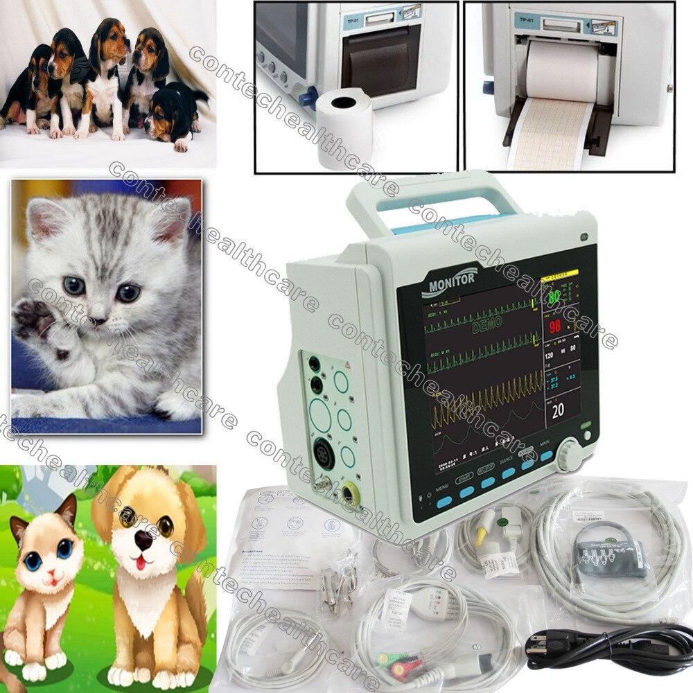 patient EFP veterinaire Surveiller 6-parametres soins intensifs avec imprimante цена и фото