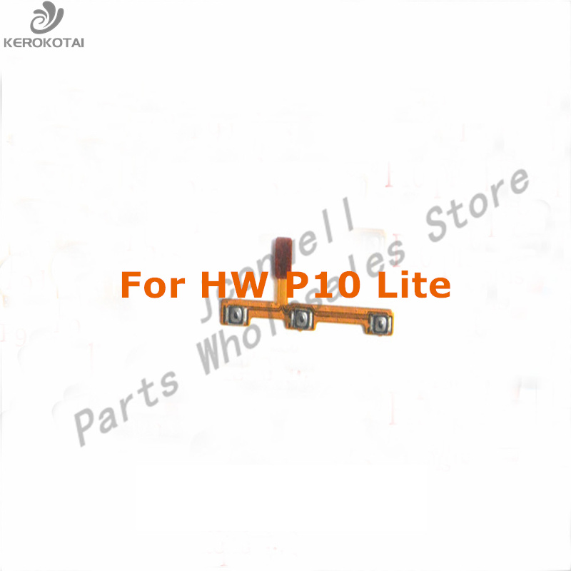 For HW P10 Lite Power On Off Button Flex Cable Mute Volume Switch Flex Replacement Part