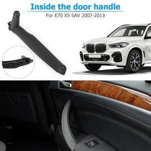 Image 5 - Manija de Panel de puerta Interior derecha e izquierda, cubierta embellecedora de tirar accesorios de Interior de coche para BMW E70 X5 E71 E72 X6 SAV