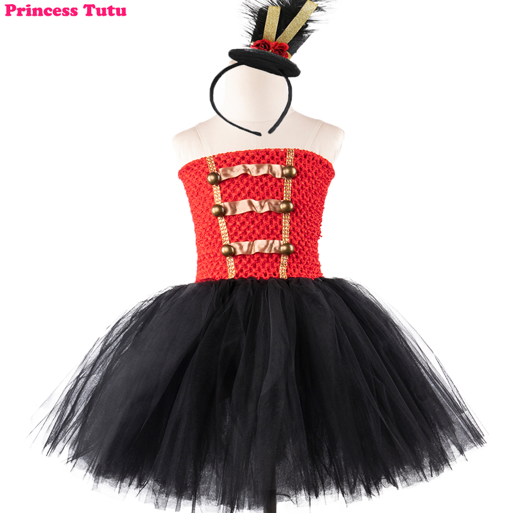 Christmas Nutcracker Tutu Dress and Hat Toddler Girls Toy Soldier Birthday Party Costume Dress Up Kids Winter Clothes Outfit christmas faux fur fitted velvet short party dress with hat