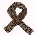 Las mujeres Del Abrigo Del Mantón Suave Animal Print: leopardo de la Bufanda de La Estola