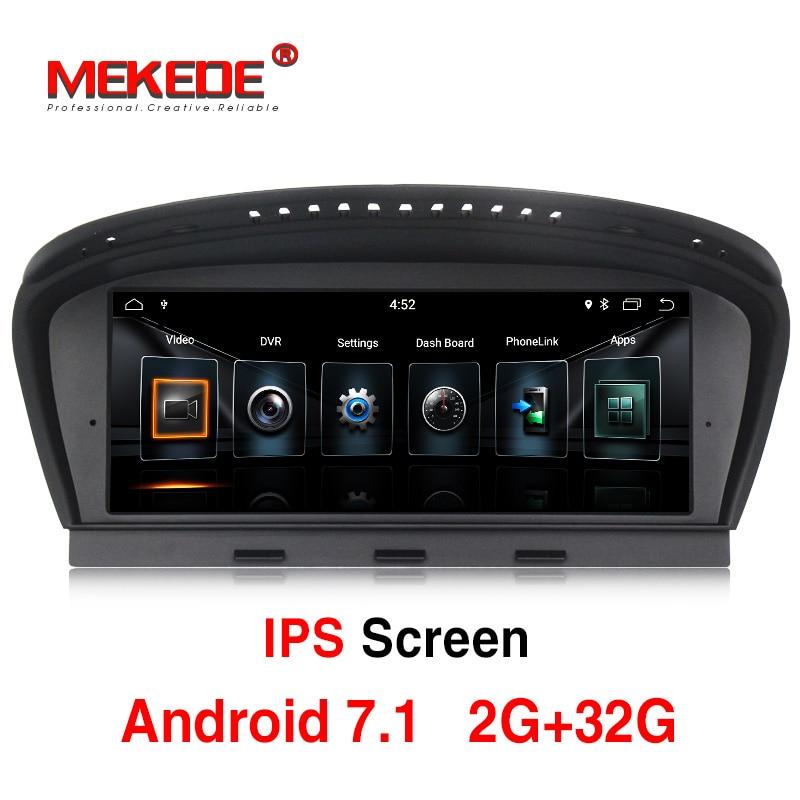 8.8 pouces HD Écran Pour BMW 5 Série E60 E90 CIC CCC Système De Voiture Stéréo Audio Vidéo Lecteur GPS navigation Multimédia (Pas de CD DVD