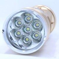 2014 New Skyray Led Flashlight 10000 Lumens 7x CREE XM L T6 LED Flashlight Water Resistant