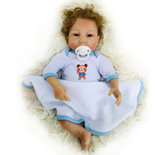 New Arrival 18''/45cm Princess Bebe Reborn Handmade Reborn Baby Doll Soft Silicone Vinyl Real Touch Newborn Girl Toys Bonecas npkcollection full silicone reborn girl body dolls soft silicone vinyl real gentle touch bebe new born real baby toys for kids