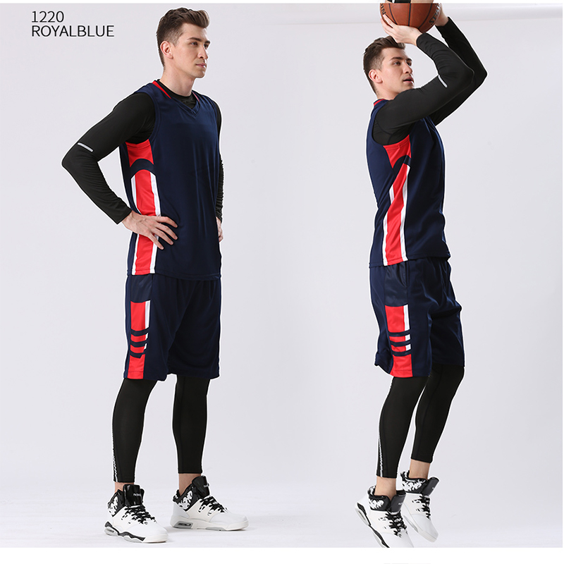 4PCS Set Winter Basketball Jersey With Compression Tights Mens Sports Tights Sports Jerseys Basketball Shirt Fitness Workout Kit in Basketball Jerseys from Sports Entertainment