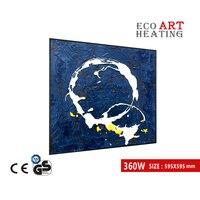360 w 이미지 원적외선 패널 히터 전기 벽 히터