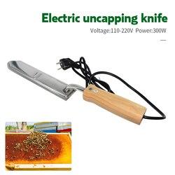 Aço inoxidável elétrica raspagem cortador de mel faca untamping apicultura abelha ferramentas equipamentos corte raspador aquecimento