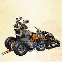 Compatible con Legoings niños bloques Ninjago Dragon Warriors juegos de construcción de vehículos niños modelo juguetes educativos