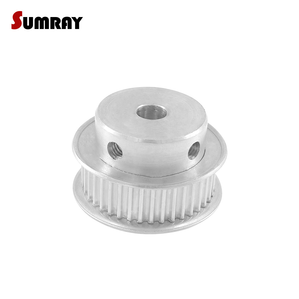SUMRAY 3M 40T Timing Pulley 5/6/6.35/7/8/10/12/14/15/16/17/19/20mm Inner Bore CNC Belt Pulley 11mm Belt Width Pulley Wheel|pulley wheel|timing pulley|cnc belt pulley - title=
