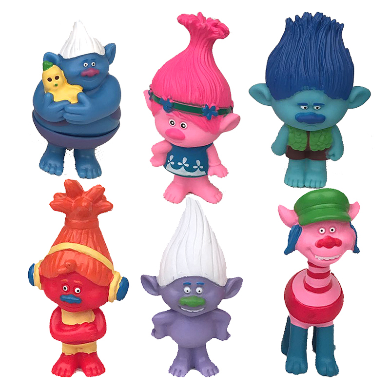 Trolls Toy Childrens Action Figure Toy Mini Figures Model