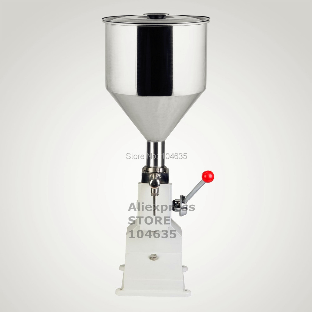 2016 NOUVELLE MISE À NIVEAU A03 Manuel Machine De Remplissage (5 ~ 50 ml) pour la crème, shampoing, cosmétiques, liquide de remplissage machine de remplissage