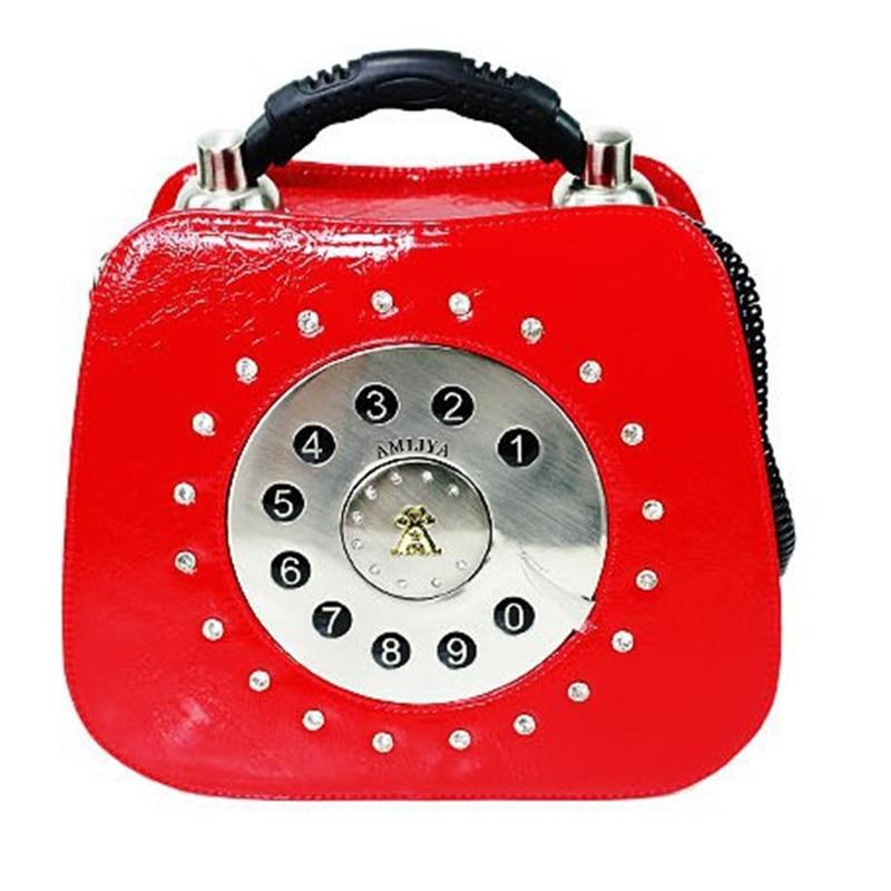 Luxury Handbags Women Bags Designer Leather Handbags Fashion Shoulder Bag Telephone Tote Female Vintage Crossbody Bag