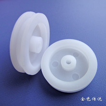 20 * 4 * 1.9   5Pcs Small Plastic Pulley Wheel Fitting Science Technology Production Materials DIY Model  Accessories F17637