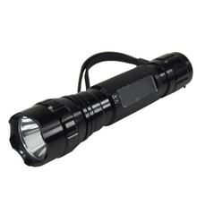 PANYUE Factory Direct Sales Zoomable Mini Flashlight T6 18650 Rechargeable LED flashlight Torch 501B Waterproof