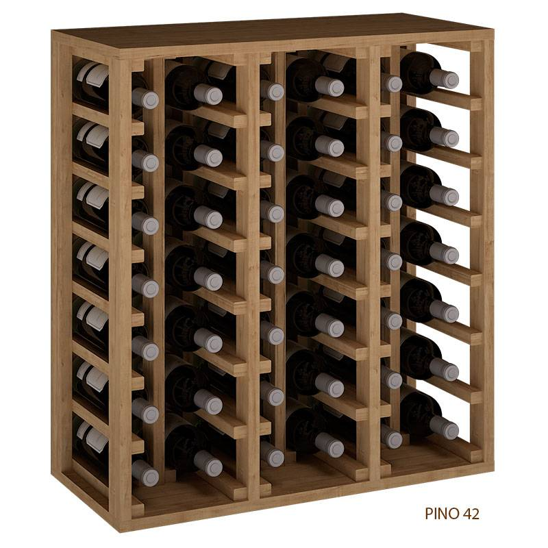 Botellero 42 Botellas Combinable