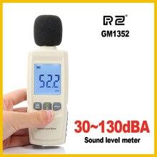 RZ мини-измерители уровня звука децибел метр регистратор шум аудио детектор цифровой диагностический инструмент автомобильный микрофон GM1352