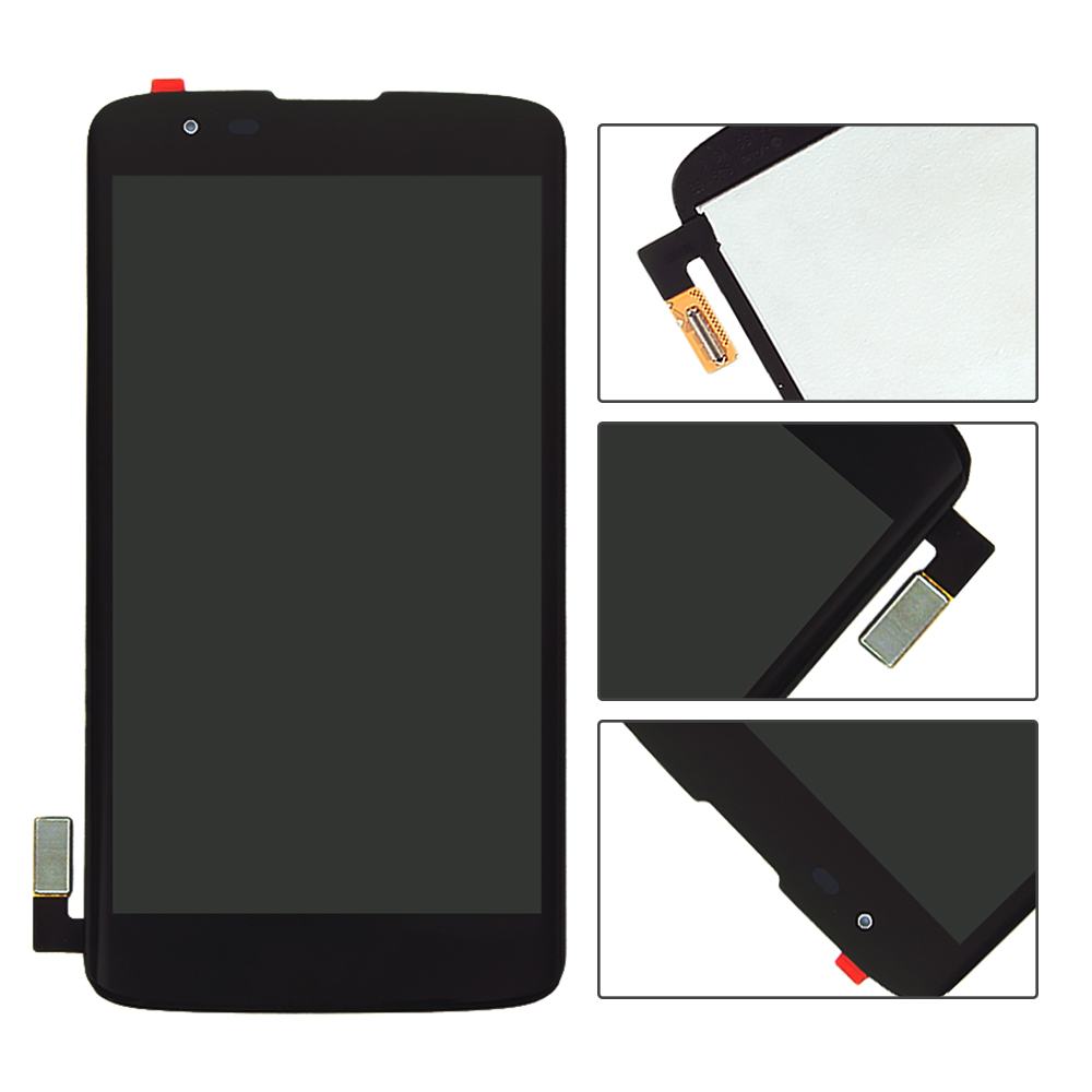 imágenes para Para LG K7 Homenaje 5 LS675 X210 X210DS MS330 Pantalla LCD + Pantalla Táctil Digitalizador de Montaje Completo de Piezas Envío Libre + Número de seguimiento