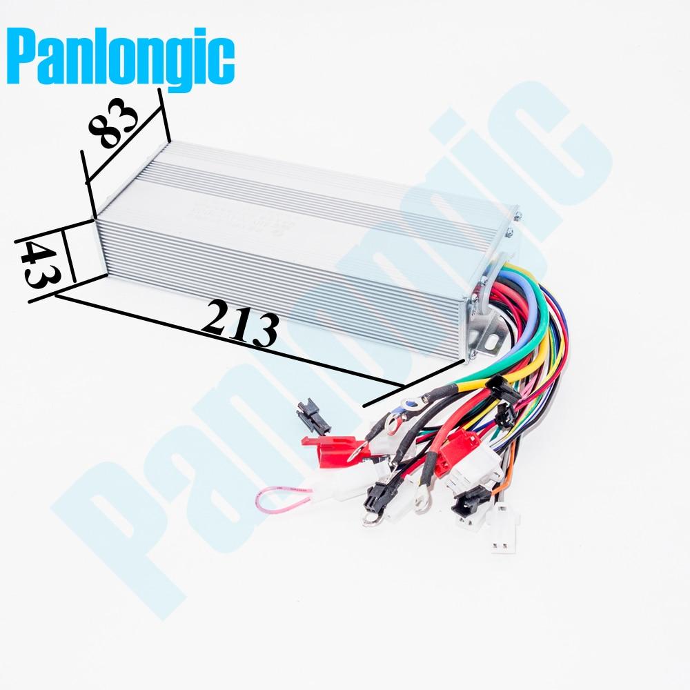 Panlongic 48 72v 1500w Electric Bicycle E Bike Scooter Hub Motor Wiring Diagram