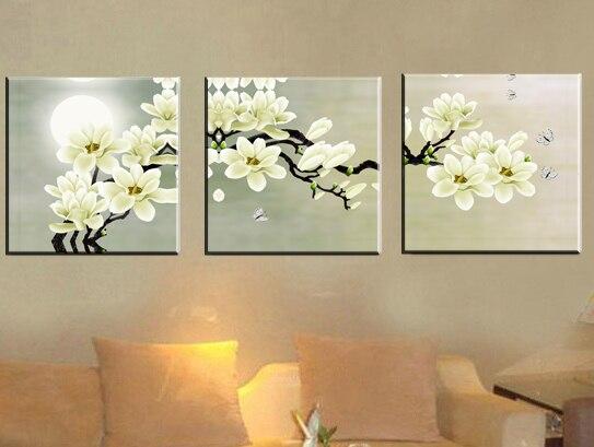 Floral Canvas Wall Art floral canvas wall art promotion-shop for promotional floral