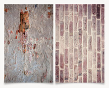 Big Size 60X90CM 3D Printing double sides Old brick walls Background For Photo Studio