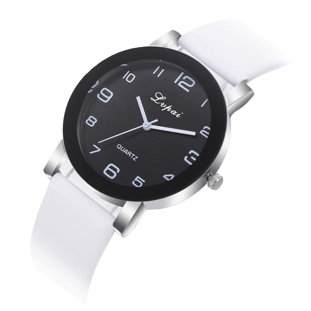 Wristwatches Lvpai Women's Casual Quartz Leather Band Watch Analog Wrist Watch Women Watche Quartz Watche Reloj