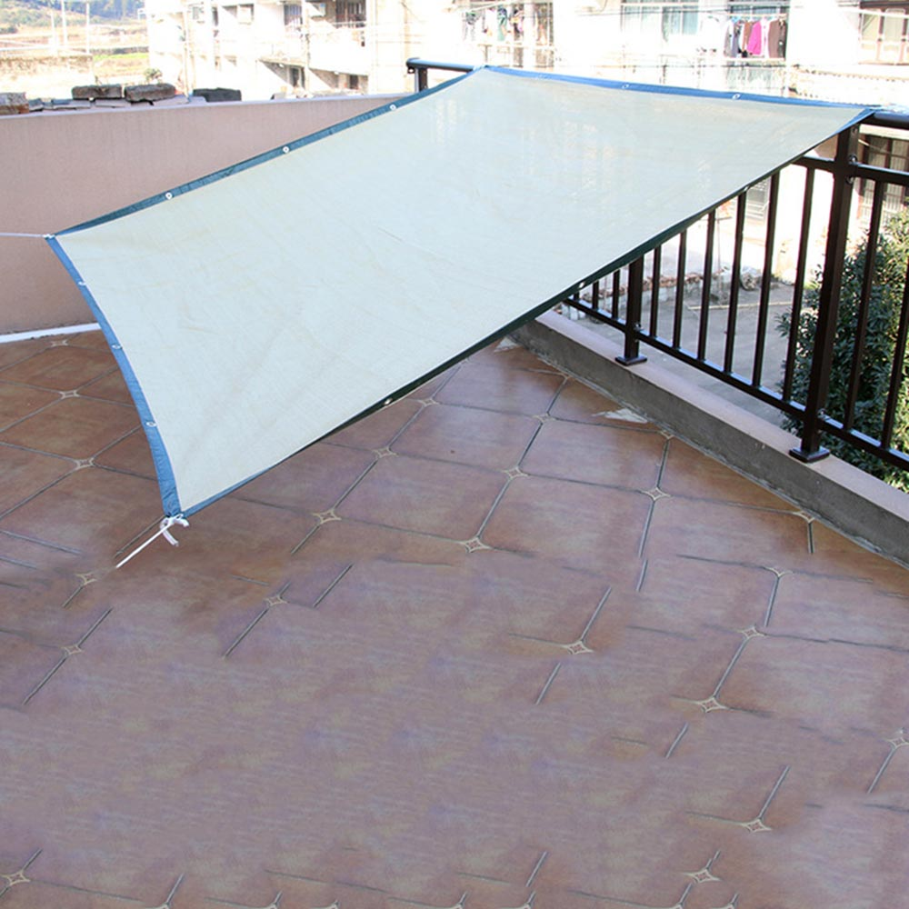 Outdoor Sun Shelter Net 6 Needle Thickened Covered  (11)