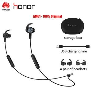 Image 1 - Huawei Original Honor AM61 Wireless earphone for Honor Huawei Xiaomi Vivo Bluethooth In Ear Headsets With Micrphone
