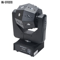 High Brightness 16x3w RGBW 4 in 1 lamp Beads LED Disco Ball dj Stage Party Effect Moving Head Light For Stage