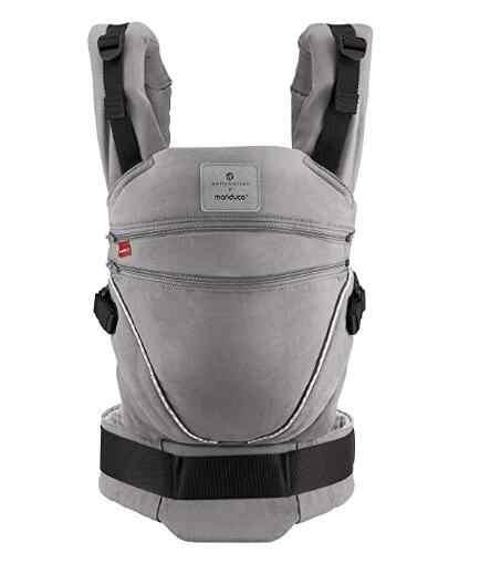 Manduca XT nosidełko dla dziecka/nosidełko dla dziecka> wszystko w jednym <regulowane siedzisko ciągłe, bawełna organiczna, 3 pozycje Portage, dla noworodka