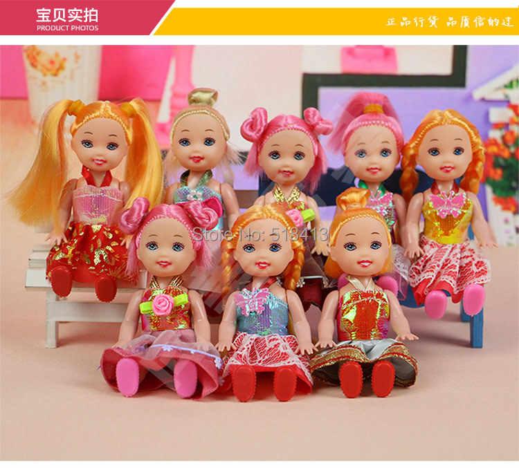 Boneca de brinquedo Doce Lar Caixa Grande Pacote Princesa 11 Plástico Educacional Diy Toy Movie & Tv Moda