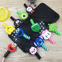 Cartoon Cable Protector Data Line Cord Protector Protective Case Cable Winder Cover For iPhone And Android USB Charging Cable cartoon cable protector data line cord protector protective case cable winder cover for iphone huawei samsung usb charging cable