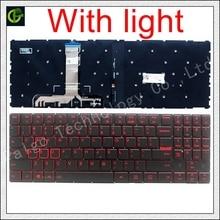 English Backlit Keyboard for Lenovo Legion Y520 Y520 15IKB Y720 Y720 15IKB R720 R720 15IKB 15 15IKB 9Z.NDKBN.D01 laptop US