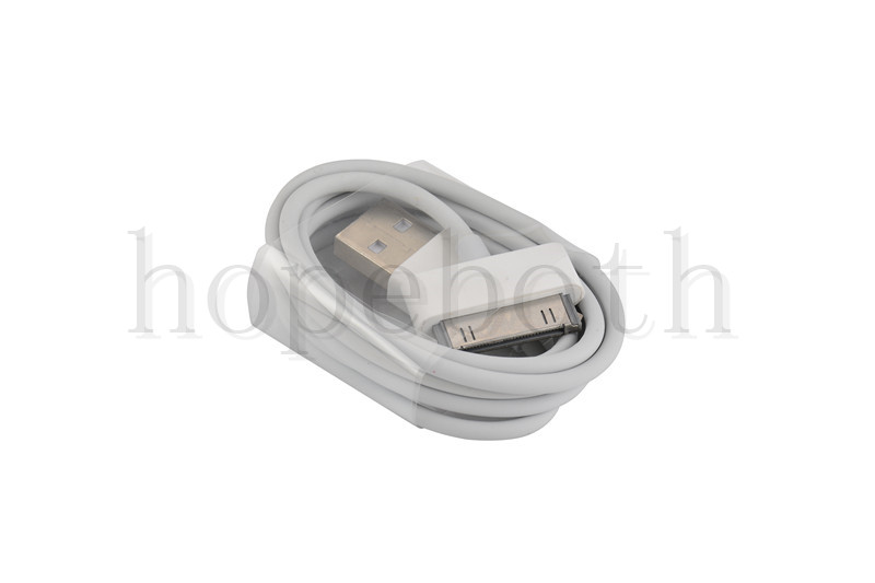 Cable for iPhone 4 /> White Color 30-pin Cord Cheap