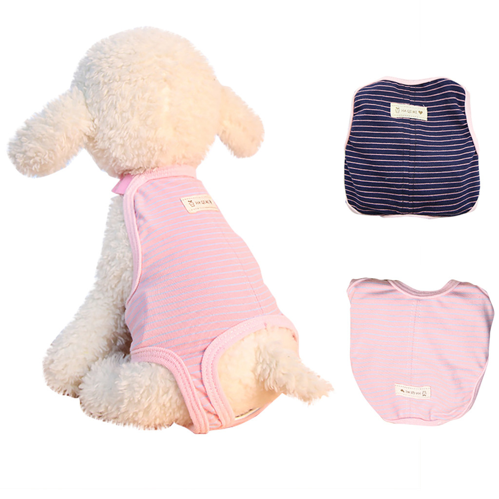 Dog Diapers Dog Panties Health Pets Menstrual Physiological Pet Safety Breathable Physiology Pants Reusable Diaper Dogs Pants