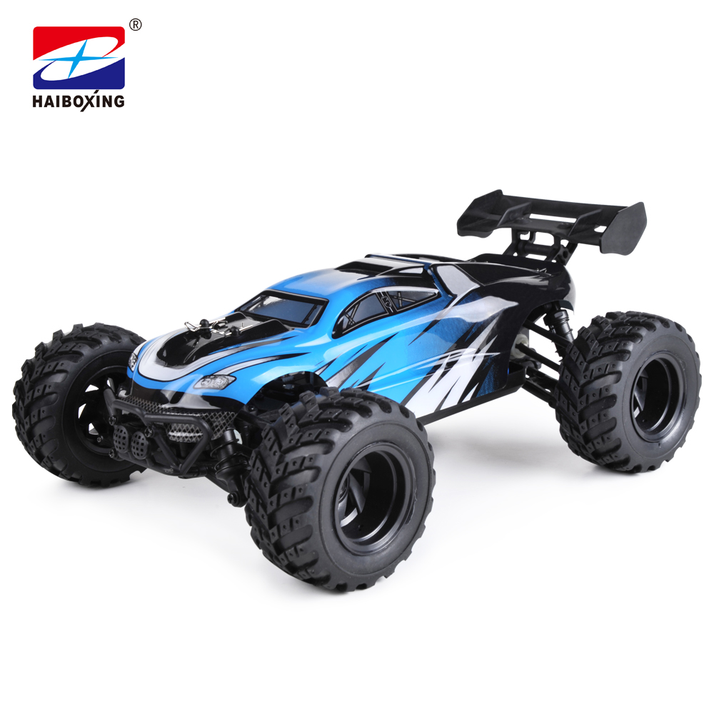 HBX RC Car 18858 4WD 2.4Ghz Radio Controller 1:18 Scale 30km/h High Speed Remote Control Electric Powered Off-road Truggy model