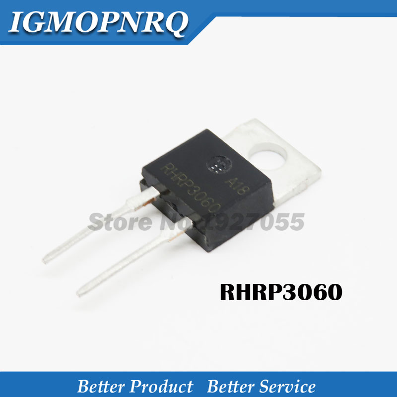 10PCS RHRP3060 TO220-2 P3060 TO-<font><b>220</b></font> Fast recovery rectifier diode <font><b>30</b></font> large current TO a / 600 v - <font><b>220</b></font> image
