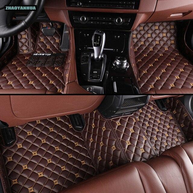 ZHAOYANHUA Car Floor Mats For Lexus CT200h GS ES250/350