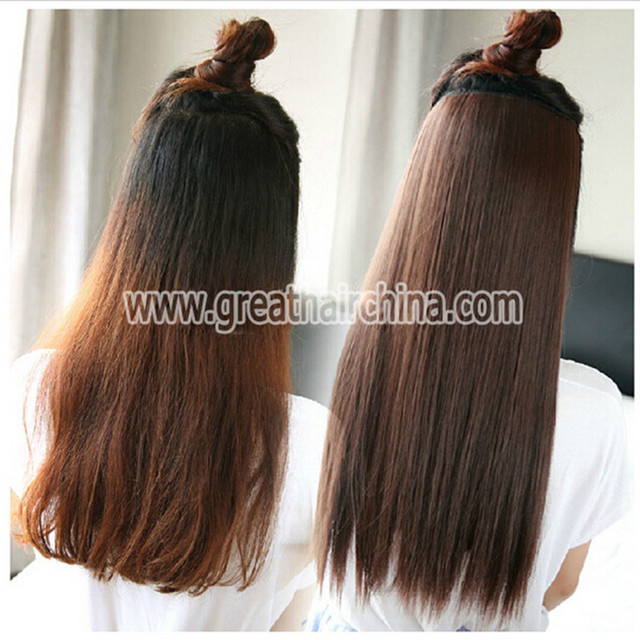 3 Setslot Full Head One Piece Real Hair Clip In Hair Extensions 75