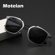 نظارات شمسية جديدة للرجال مستقطبة من الألمونيوم بدون إطار 2019 نظارات مستقطبة للقيادة والصيد نظارات شمسية مستطيلة UV400 مضادة للوهج 8639