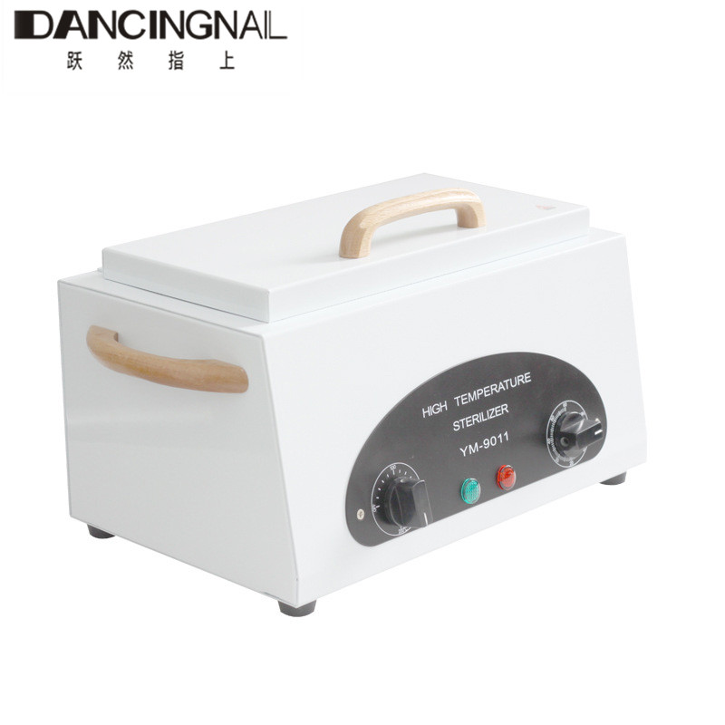 Professional High Temperature UV Sterilizer Box With Dry Heat Disinfection Cabinet For Nail Gel Manicure Art Salon Equipment nail sterilizer disinfect machine high temperature for metal tattoo art nipper tools with clean pot 10l