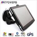 """Универсальный 7 """"экран HD Автомобильный GPS Навигации 800 МГц CPU 256 МБ RAM 8 ГБ Флэш-СБ NAV + Bluetooth + AV-IN + FMT + MP3 4 Бесплатные Карты"""