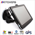"Universal 7"" screen HD Car GPS Navigation 800Mhz CPU 256MB RAM 8GB Flash SAT NAV + Bluetooth + AV-IN + FMT + MP3 4 Free Maps"